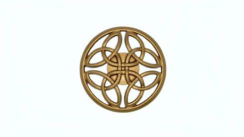 $13.70 Celtic Lux Gold Cabinet Knob