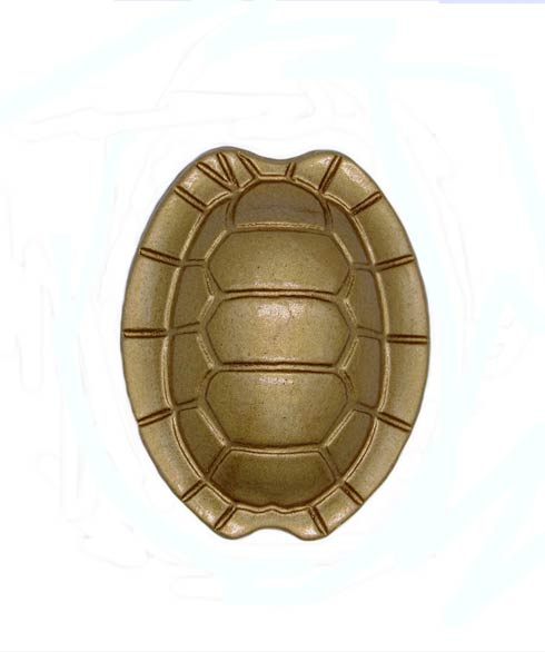 $15.70 Turtle Shell Lux Gold Cabinet Knob