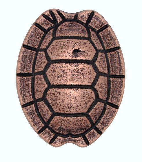 $14.20 Turtle Shell Copper Ox Cabinet Knob