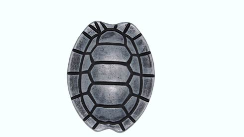 $14.20 Turtle Shell Pewter Ox Cabinet Knob