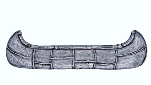 $22.80 Canoe 2-15/16-in Center to Center Pewter Ox Cabinet Pull