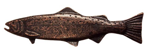 $23.80 Long Trout Left Facing 2-15/16-in Center to Center Oil Rubbed Bronze Cabinet Pull