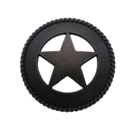 $18.50 Large Star with Rope 2-1/8-in Center to Center Oil Rubbed Bronze Cabinet Pull