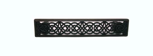 Celtic Style 3-7/8-in Center to Center Oil Rubbed Bronze Cabinet Pull