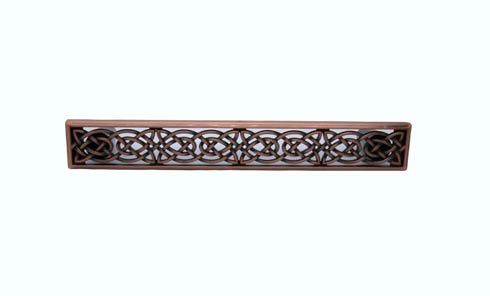 $22.30 Celtic Style 5-1/8-in Center to Center Satin Copper Ox Cabinet Pull