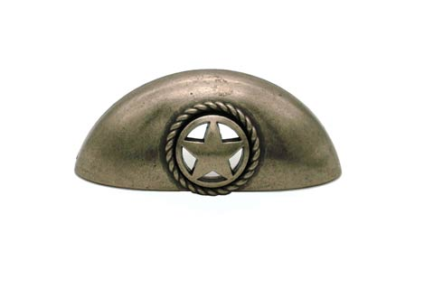 $18.80 Star 3-in Center to Center Nickel Ox Cup Cabinet Pull