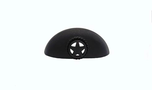 $18.80 Star 3-in Center to Center Matte Black Cup Cabinet Pull