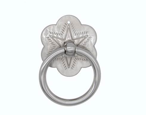 $13.60 Star Satin Nickel Ring Cabinet Pull