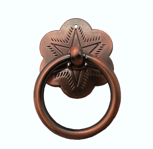 $13.60 Star Satin Copper Ox Ring Cabinet Pull