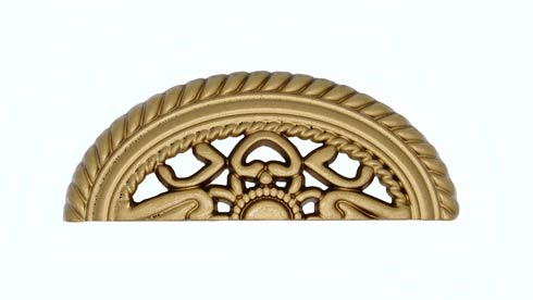 $21.20 Tuscany 3-in Center to Center Lux Gold Cup Cabinet Pull