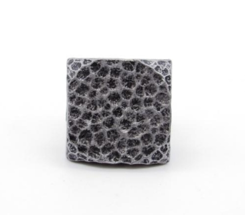 $24.60 Square 1-in Hammered Clavo 8-Pack Pewter Ox