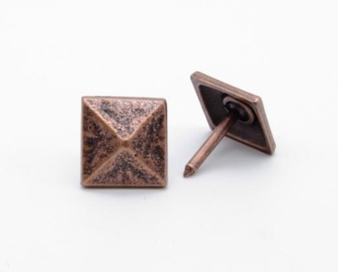$17.12 Square 3/4-in Pyramid Clavo 4-Pack Copper Ox