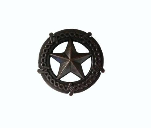 $15.20 Star with Barbed Wire Oil Rubbed Bronze Cabinet Knob