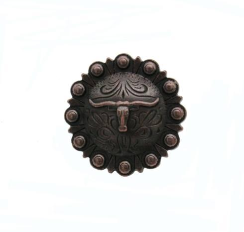 $15.20 Steer in Round Oil Rubbed Bronze Cabinet Knob