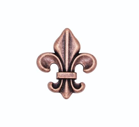 $14.20 Fleur De Lis Copper Ox Cabinet Knob