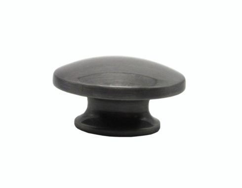 $14.20 Large Oval Pewter Ox Cabinet Knob