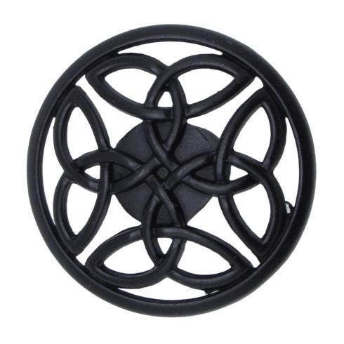 $12.20 Celtic Matte Black Cabinet Knob
