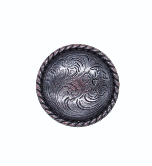 $11.20 Small Engraved Flower Oil Rubbed Bronze Cabinet Knob