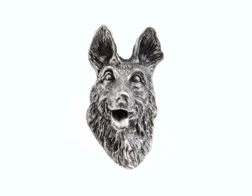 $23.50 German Shepherd Pewter Ox Cabinet Knob
