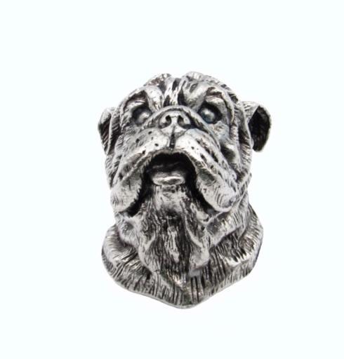 $23.50 Bulldog Pewter Ox Cabinet Knob