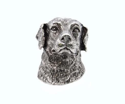 23.5 Labrador Retriever Pewter Ox Cabinet Knob