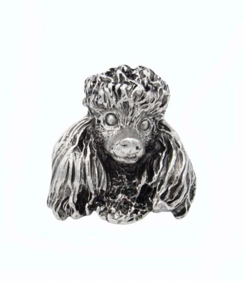 $23.50 Poodle Pewter Ox Cabinet Knob