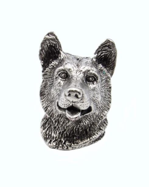 $23.50 Siberian Husky  Pewter Ox Cabinet Knob