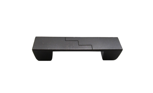 $18.60 Rectangle Center Zig Zag 3-In Center to Center Oil Rubbed Bronze Cabinet Pull
