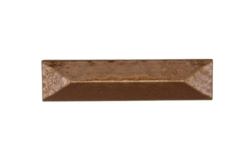 $20.30 Rustic Pyramid 3-in Center to Center Lux Bronze Cabinet Pull