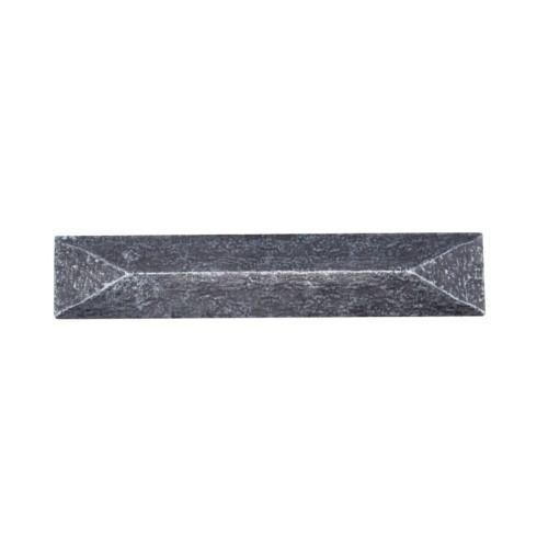 Rustic Pyramid 3-3/4-in Center to Center Pewter Ox Cabinet Pull