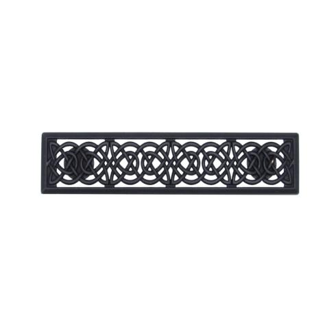 Celtic Style 3-in Center to Center Matte Black Cabinet Pull