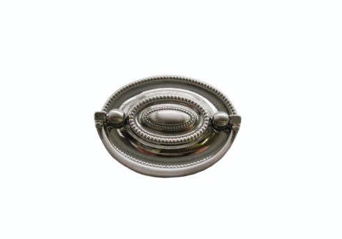 $14.30 Tuscany 2-1/4-In Center to Center Satin Nickel Oval Drop Cabinet Pull