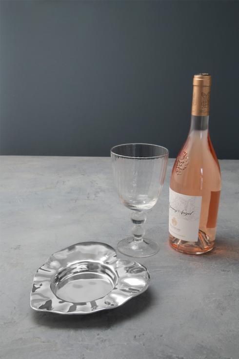 heart wine coaster image