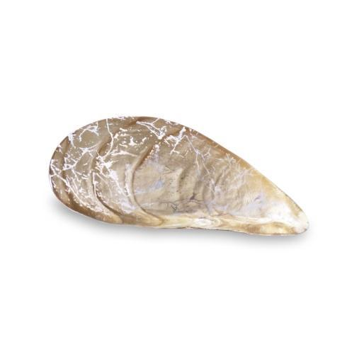 $49.50 2 Pc Cracked Pina Shells Gold Foil Small