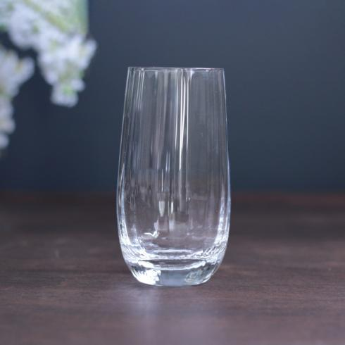 $21.00 Bohemian Glass Highball Glass Clear