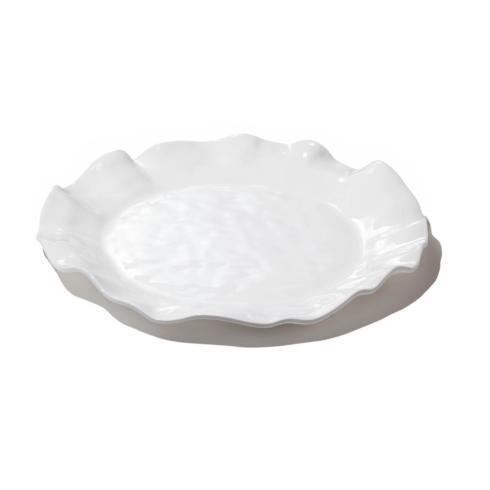 $58.00 Havana round platter white