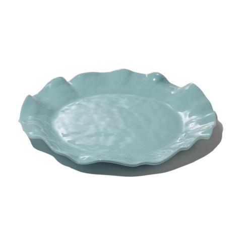 Havana round platter aqua image