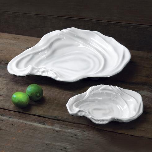 Beatriz Ball  VIDA Ocean oyster bowl white (lg) $49.00