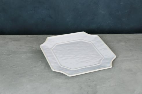 $30.00 Charleston Sq Platter White