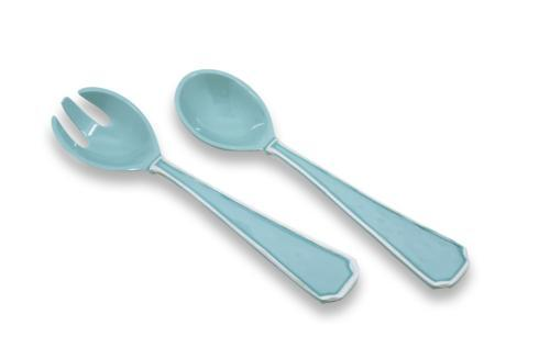 $19.00 Charleston Salad Servers (Lg) Blue