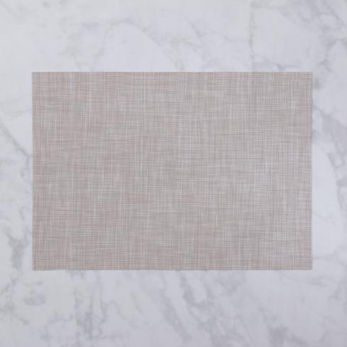$26.00 Indoor|Outdoor beige woven rectangle placemat set of 4