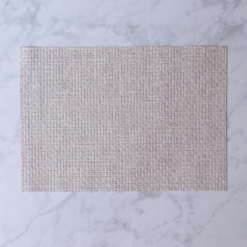 $26.00 Indoor|Outdoor oatmeal woven rectangle placemat set of 4