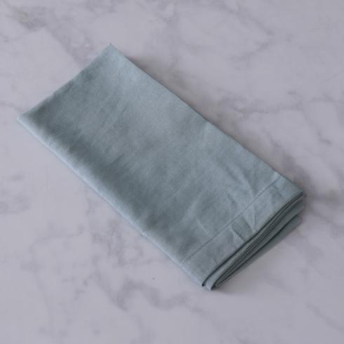 $26.00 VIDA Easy Peasy napkins set of 4  light blue