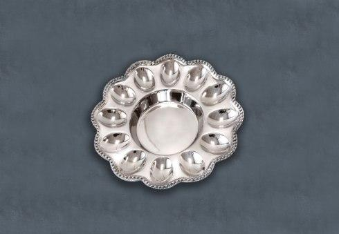 Beatriz Ball  Pearl Deviled Egg Platter $83.00