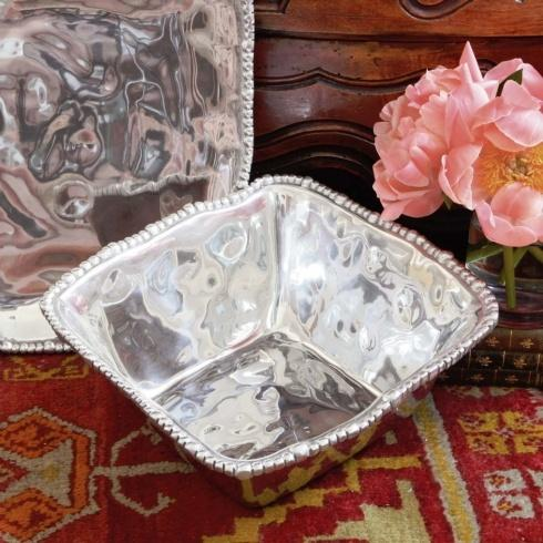 Beatriz Ball  Organic Pearl Square Bowl (Md) $144.00