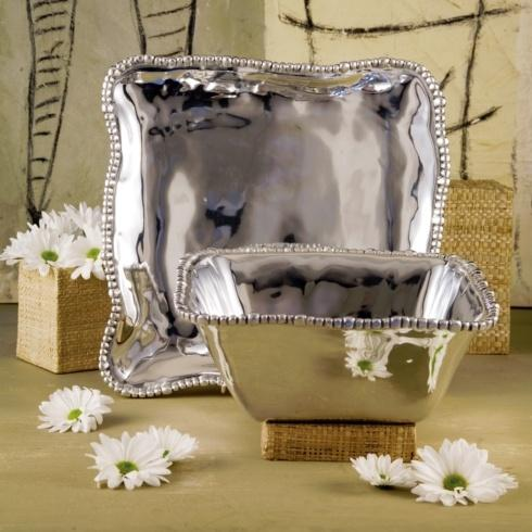 Beatriz Ball  Organic Pearl Square Platter (Md) $132.00