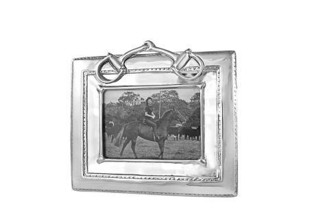 Western Equestrian Snaffle Bit (5x7) image