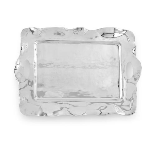 Rebecca Rectangular Tray with Handles Large image
