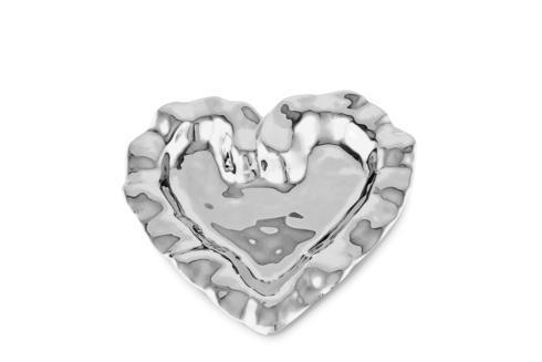 $59.00 Heart Plate