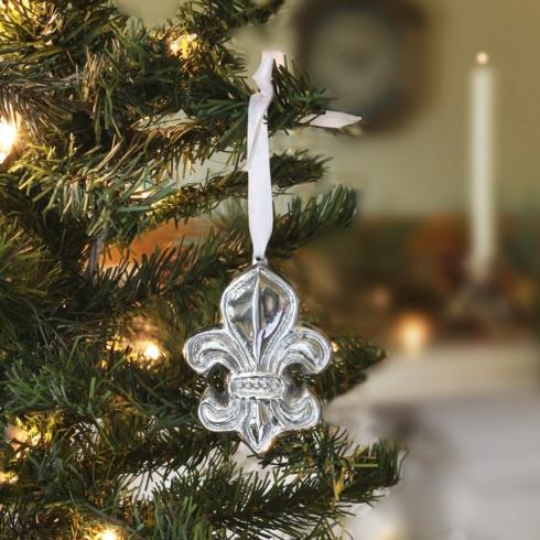 $21.00 Fleur De Lis Ornament